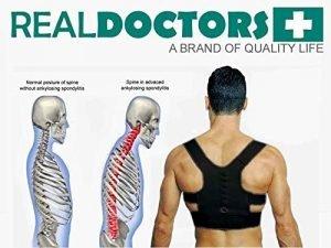 قوزبند طبی Real Doctors نگهدارنده طبی شانه و ستون فقرات