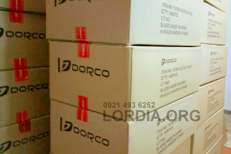 تیغ دو لبه صابون دار دورکو DORCO