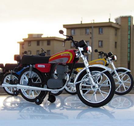 HONDA CG125 Maquette_5