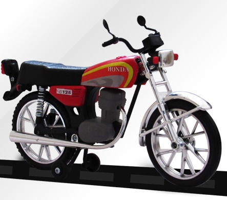 ماکت موتور هوندا سی جی CG 125