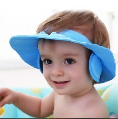 کلاه حمامی پلاستیکی baby shower cap کودک