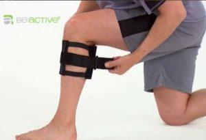 زانو بند Be active به همراه پد کاهش درد