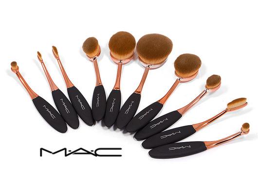 ست براش یا قلم آرایش ۱۰ تایی برند MAC