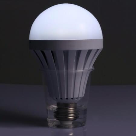لامپ سرپیچی شارژی اضطراری
