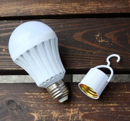 لامپ سیار سرپیچی قابل شارژ
