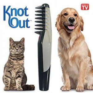 شانه و برس برقی موی سگ و گربه 'گره باز کن'