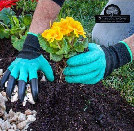 دستکش باغبانی پنجه دار مخصوص کشاورزی