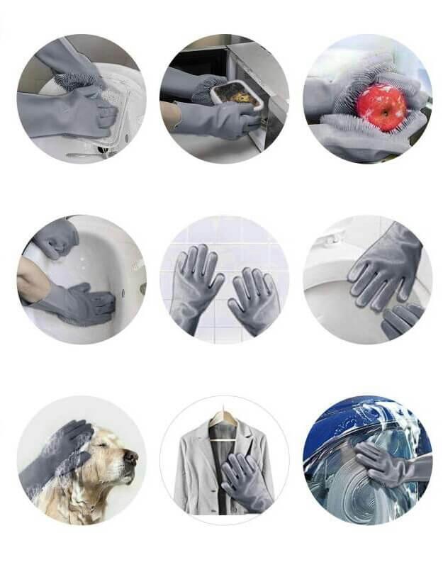 موارد استفاده دستکش سیلیکونی دستکش حرارتی