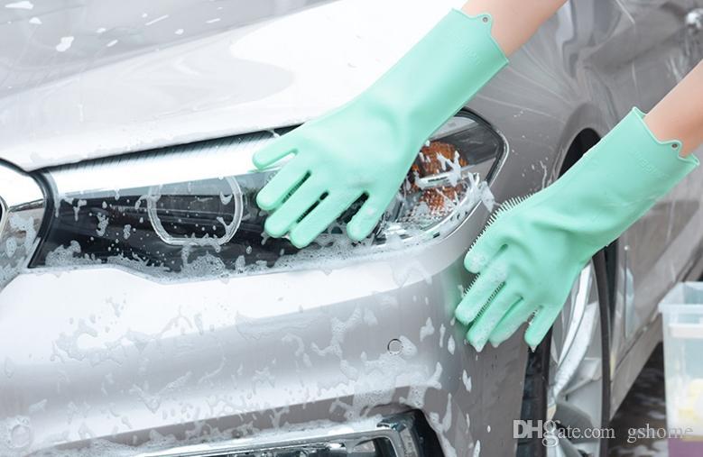 دستکش سیلیکونی کارواش و شستن ماشین