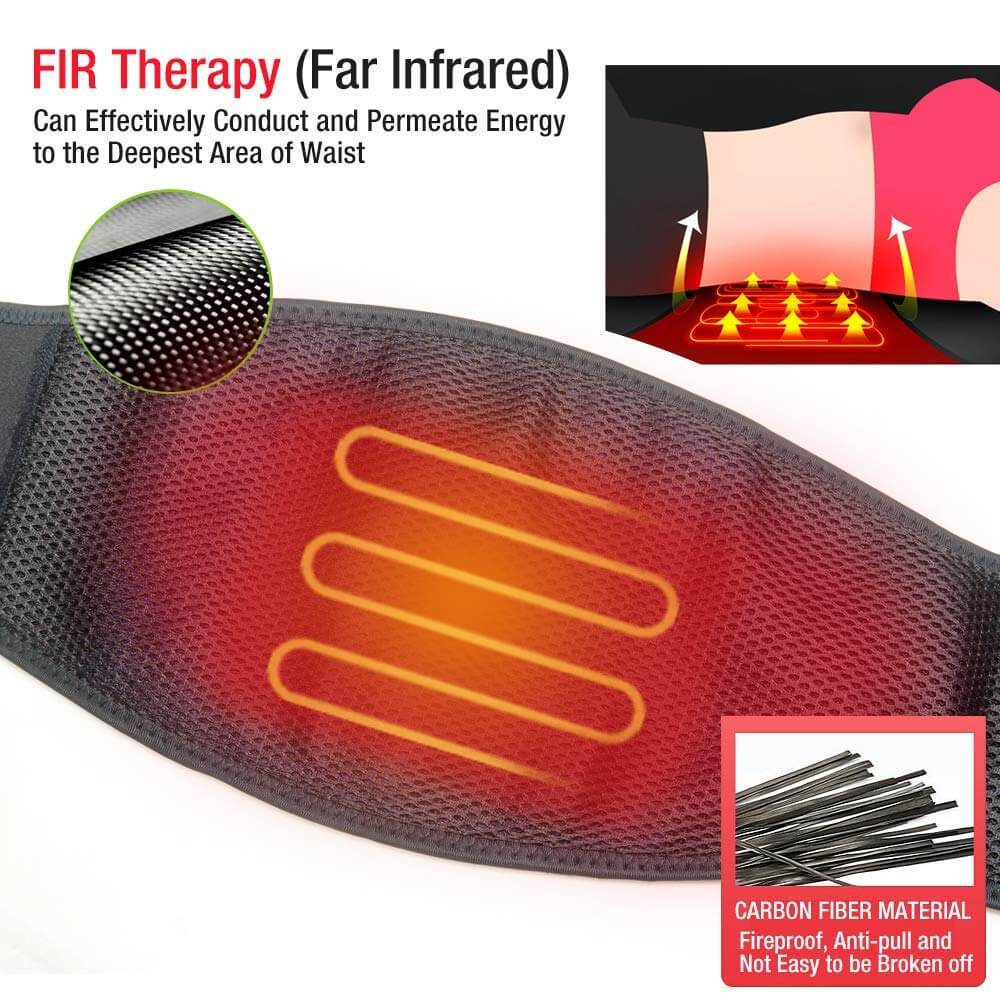 heated waist belt