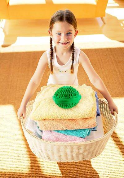 توپ های شستن لباس بدون پودر لباسشویی