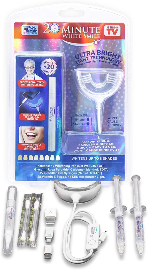 دستگاه خانگی بلیچینگ دندان
