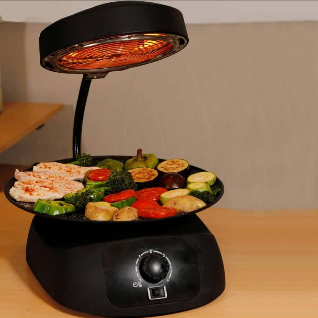 دستگاه برقی گریل اسموکلس روستر Grill Smokeless Roaster
